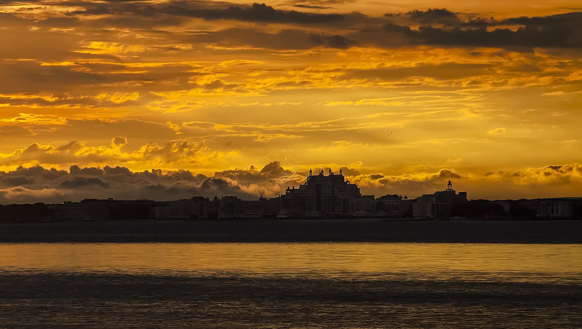 zachód słońca Bułgaria