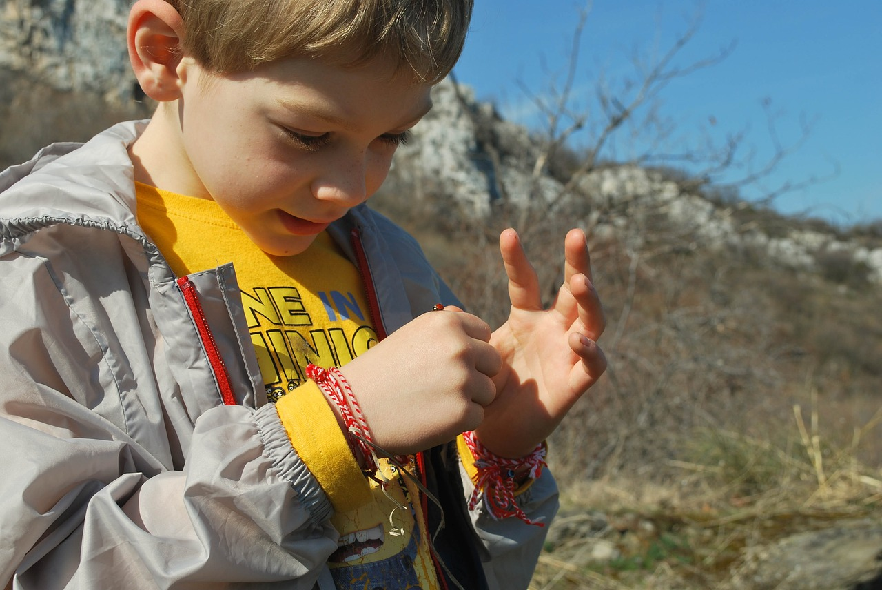 Dziecko w Bułgarii