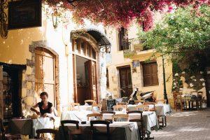 Restauracja w Grecji